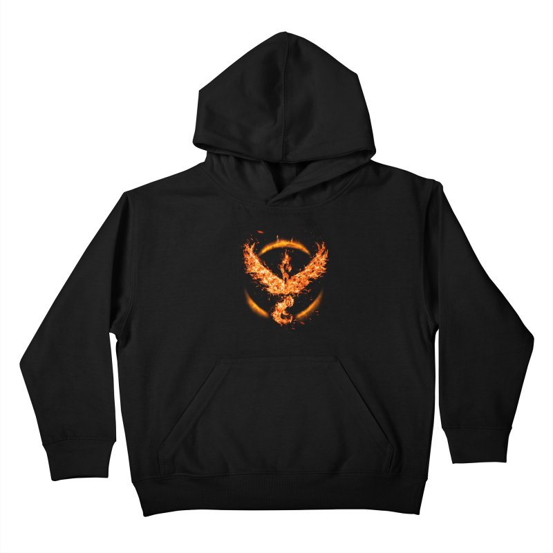 TEAM VALOR Kids Pullover Hoody by frogafro's Artist Shop