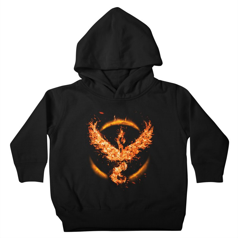 TEAM VALOR Kids Toddler Pullover Hoody by frogafro's Artist Shop