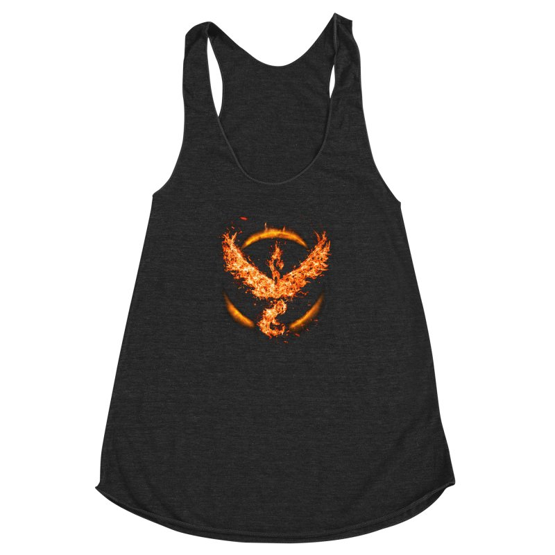 TEAM VALOR Women's Racerback Triblend Tank by frogafro's Artist Shop