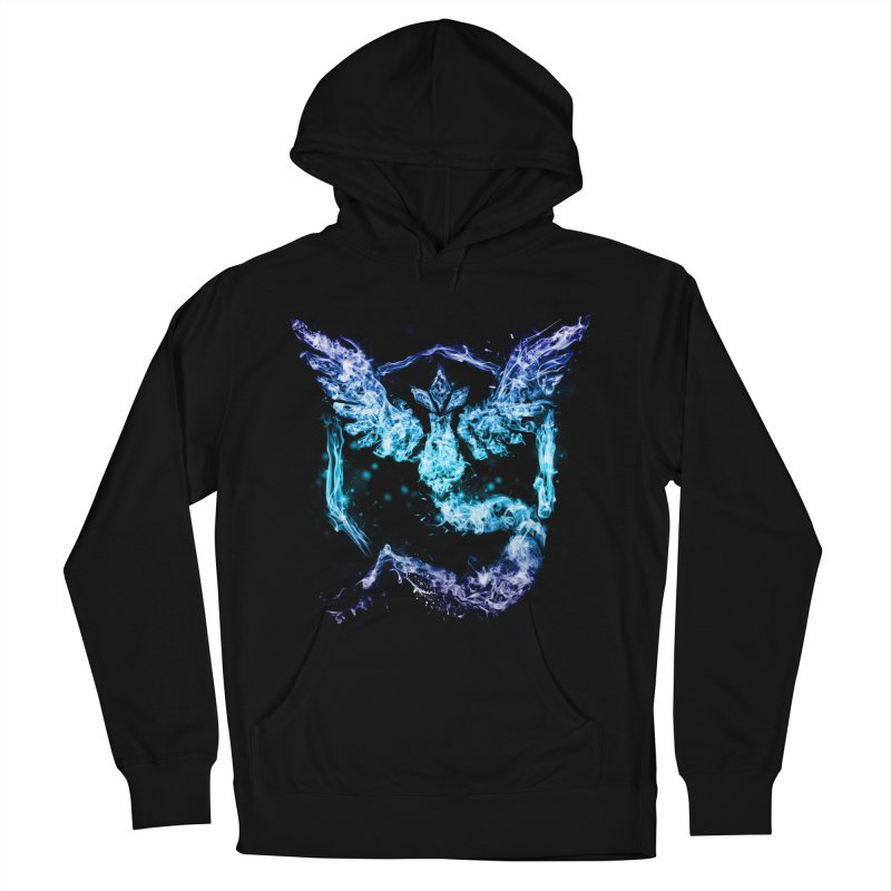 TEAM MYSTIC Men's Pullover Hoody by frogafro's Artist Shop