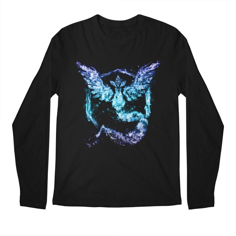 TEAM MYSTIC Men's Longsleeve T-Shirt by frogafro's Artist Shop