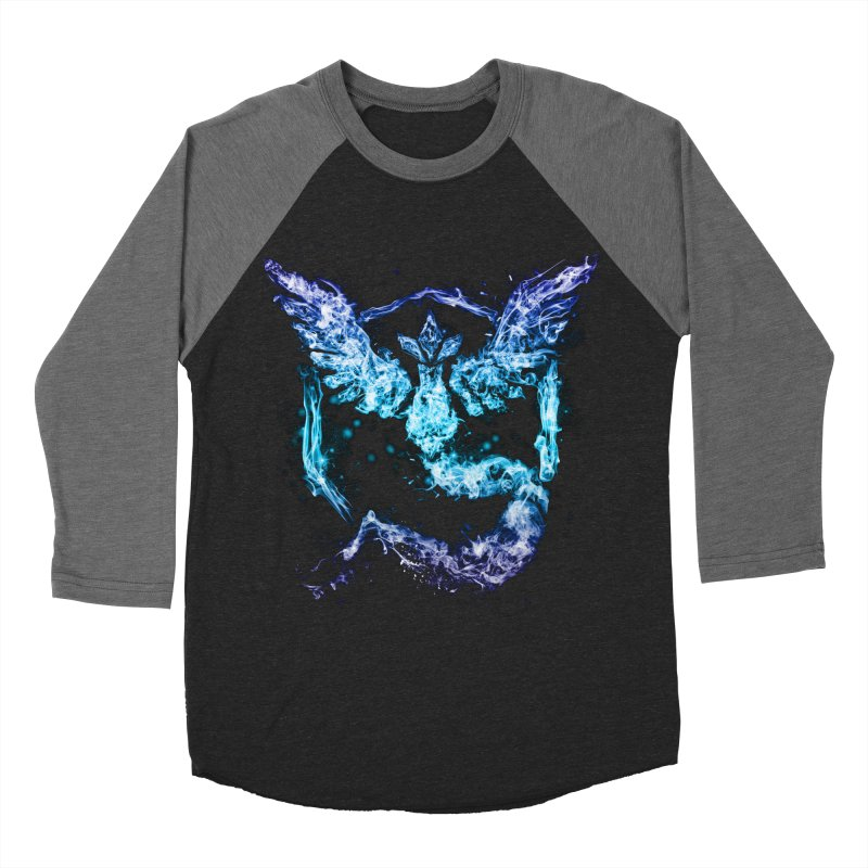 TEAM MYSTIC Men's Baseball Triblend Longsleeve T-Shirt by frogafro's Artist Shop