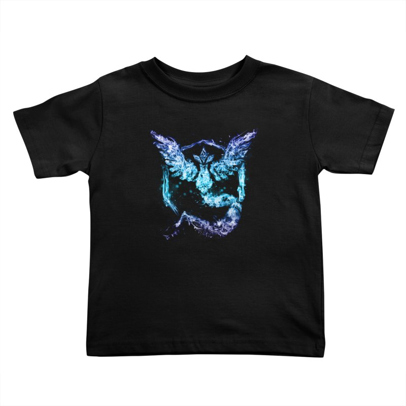 TEAM MYSTIC Kids Toddler T-Shirt by frogafro's Artist Shop