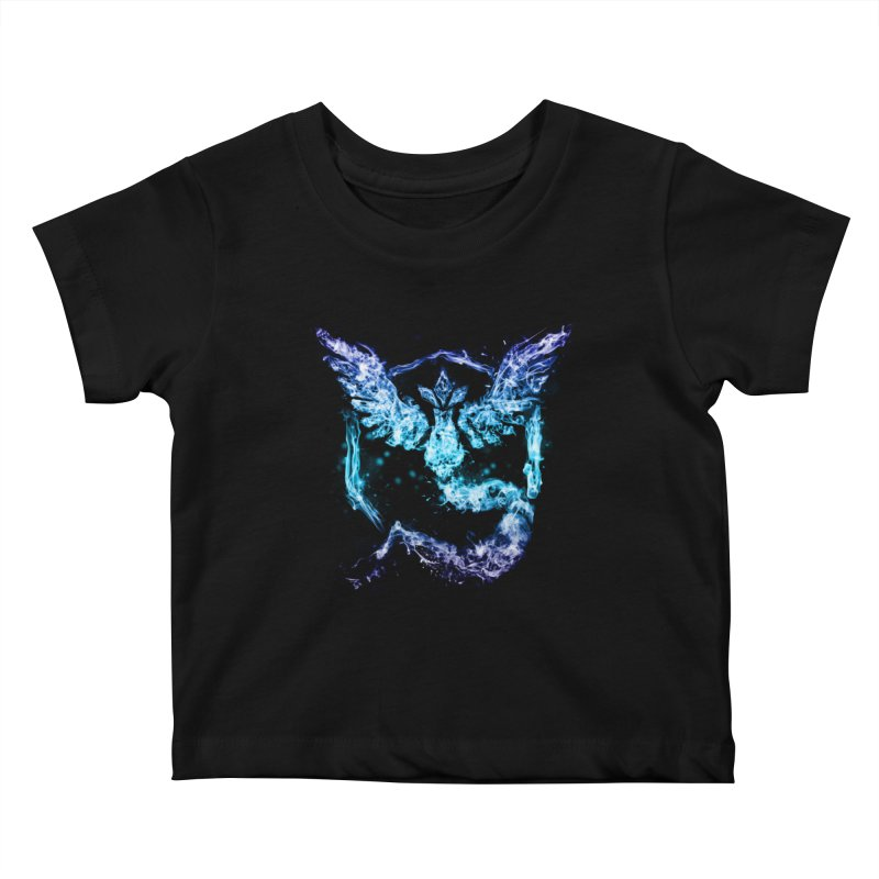 TEAM MYSTIC Kids Baby T-Shirt by frogafro's Artist Shop