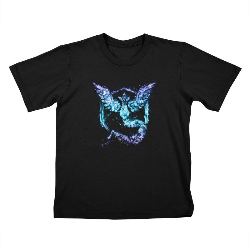 TEAM MYSTIC Kids T-Shirt by frogafro's Artist Shop