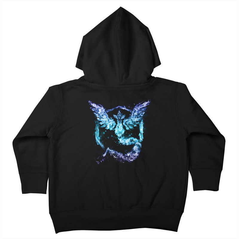 TEAM MYSTIC Kids Toddler Zip-Up Hoody by frogafro's Artist Shop