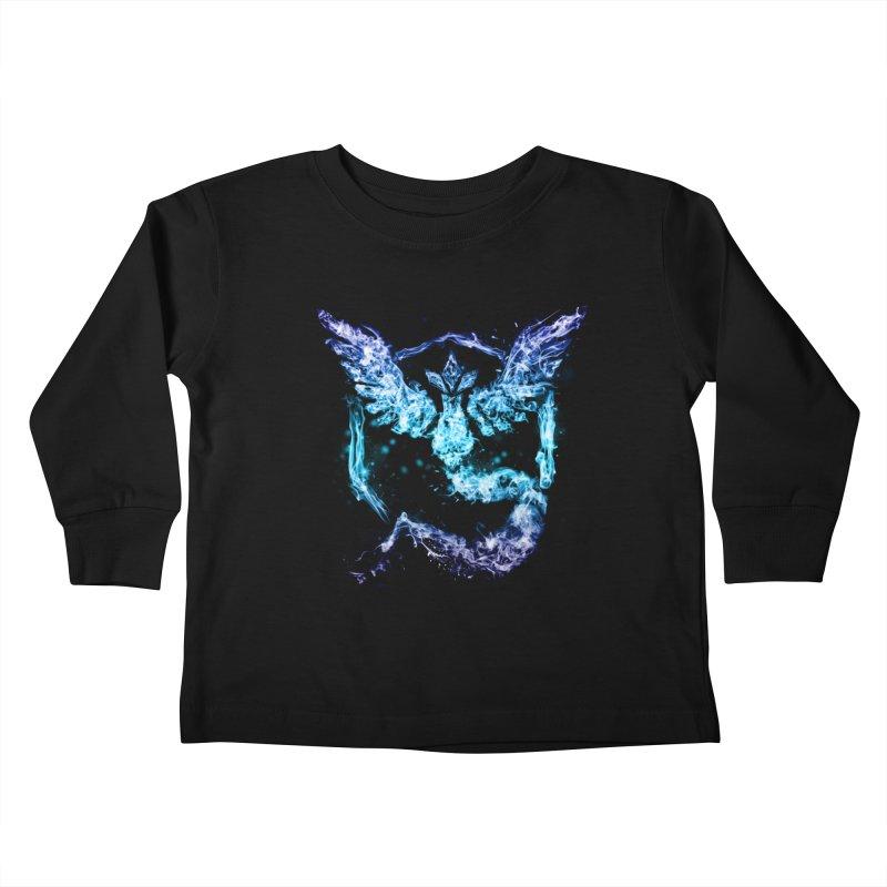 TEAM MYSTIC Kids Toddler Longsleeve T-Shirt by frogafro's Artist Shop