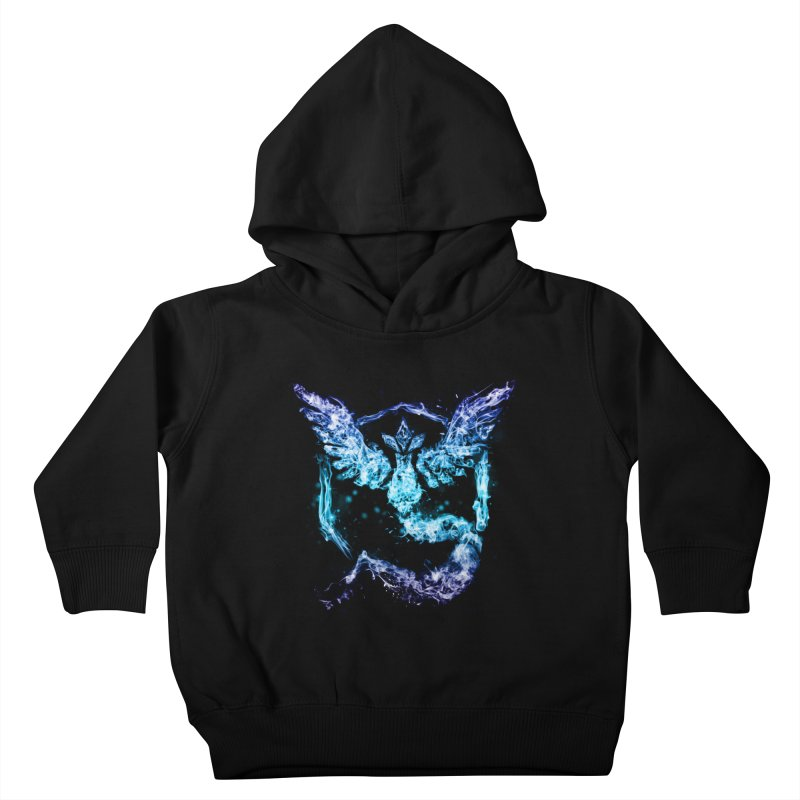 TEAM MYSTIC Kids Toddler Pullover Hoody by frogafro's Artist Shop