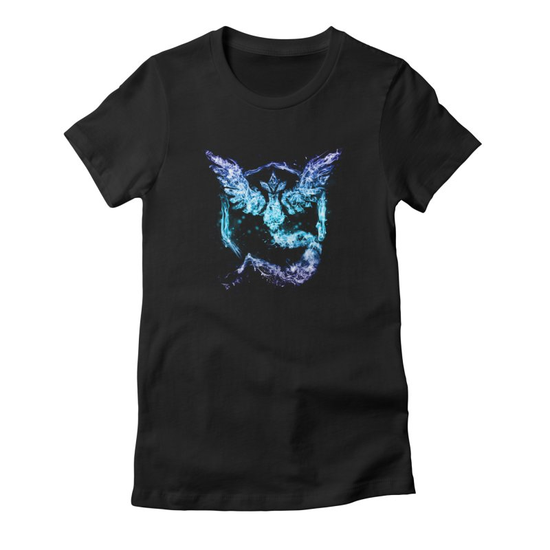 TEAM MYSTIC Women's T-Shirt by frogafro's Artist Shop