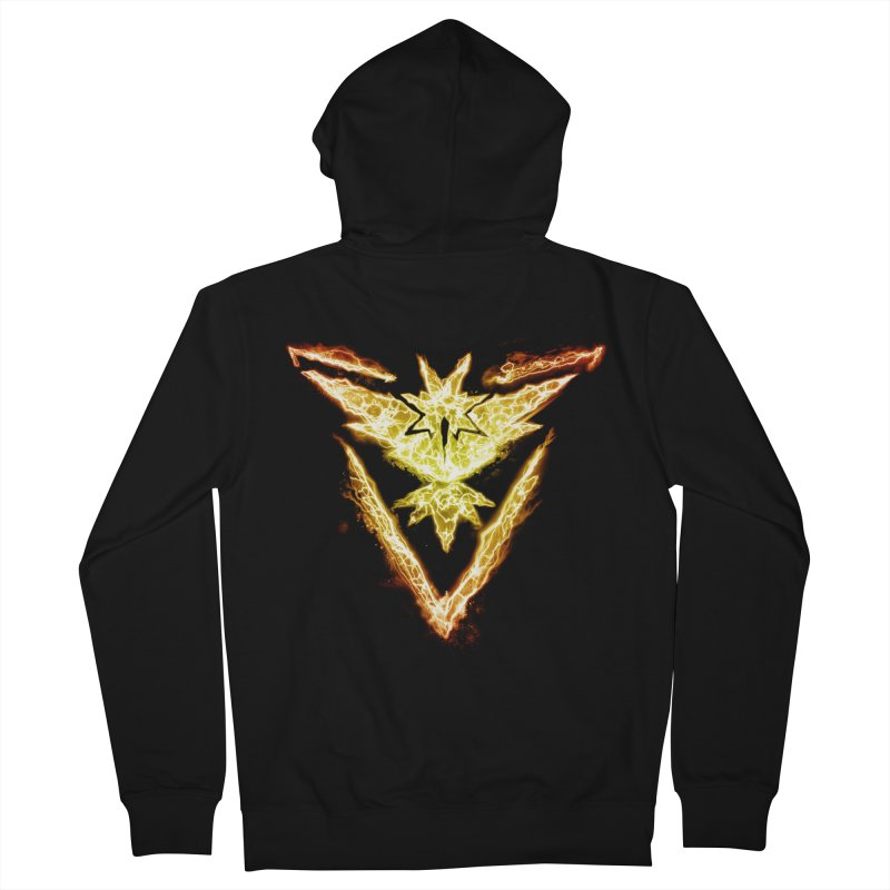 TEAM INSTINCT Men's French Terry Zip-Up Hoody by frogafro's Artist Shop