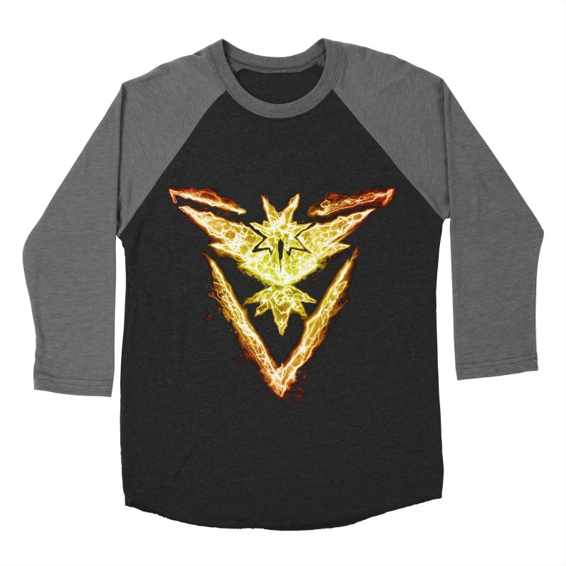 TEAM INSTINCT Men's Baseball Triblend Longsleeve T-Shirt by frogafro's Artist Shop