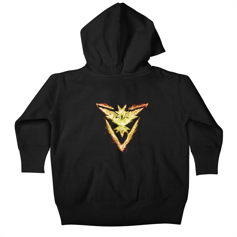 TEAM INSTINCT Kids Baby Zip-Up Hoody by frogafro's Artist Shop