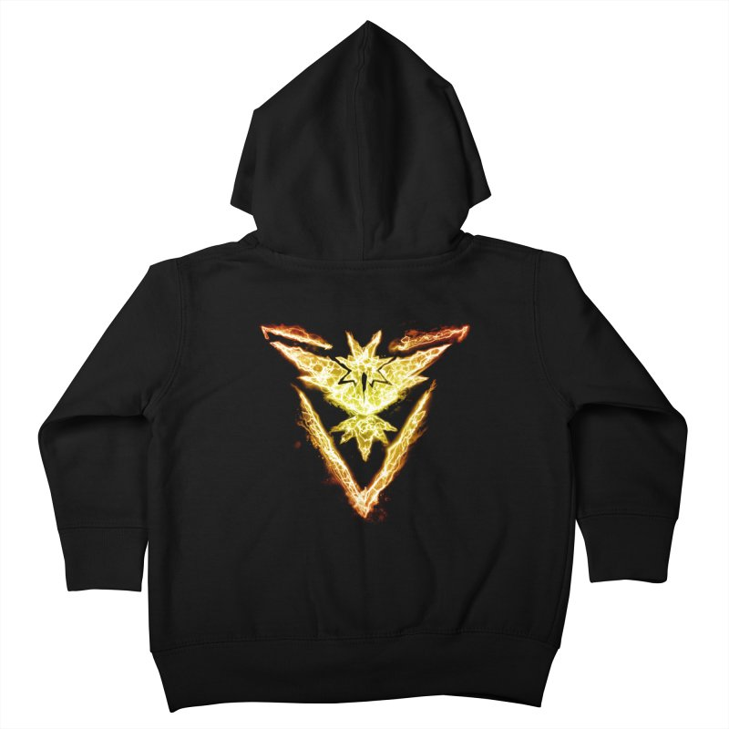 TEAM INSTINCT Kids Toddler Zip-Up Hoody by frogafro's Artist Shop