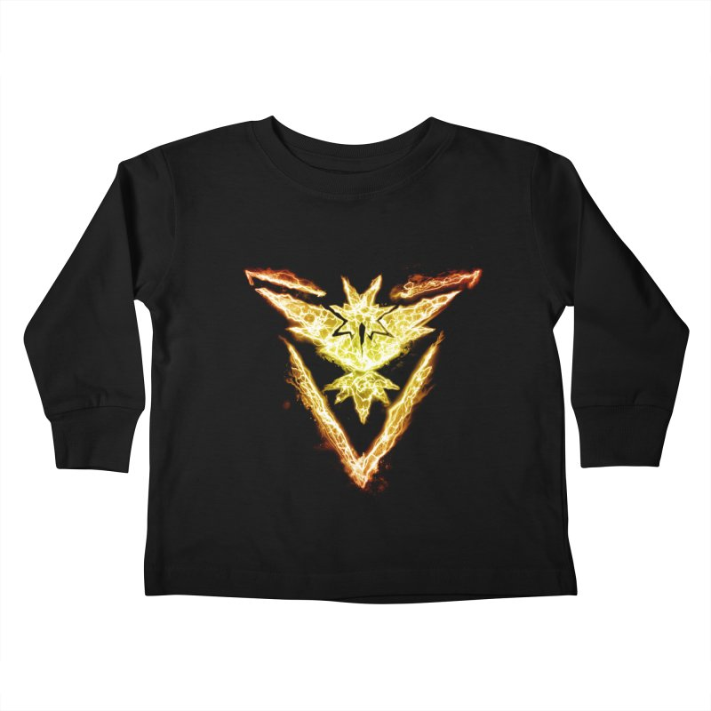 TEAM INSTINCT Kids Toddler Longsleeve T-Shirt by frogafro's Artist Shop