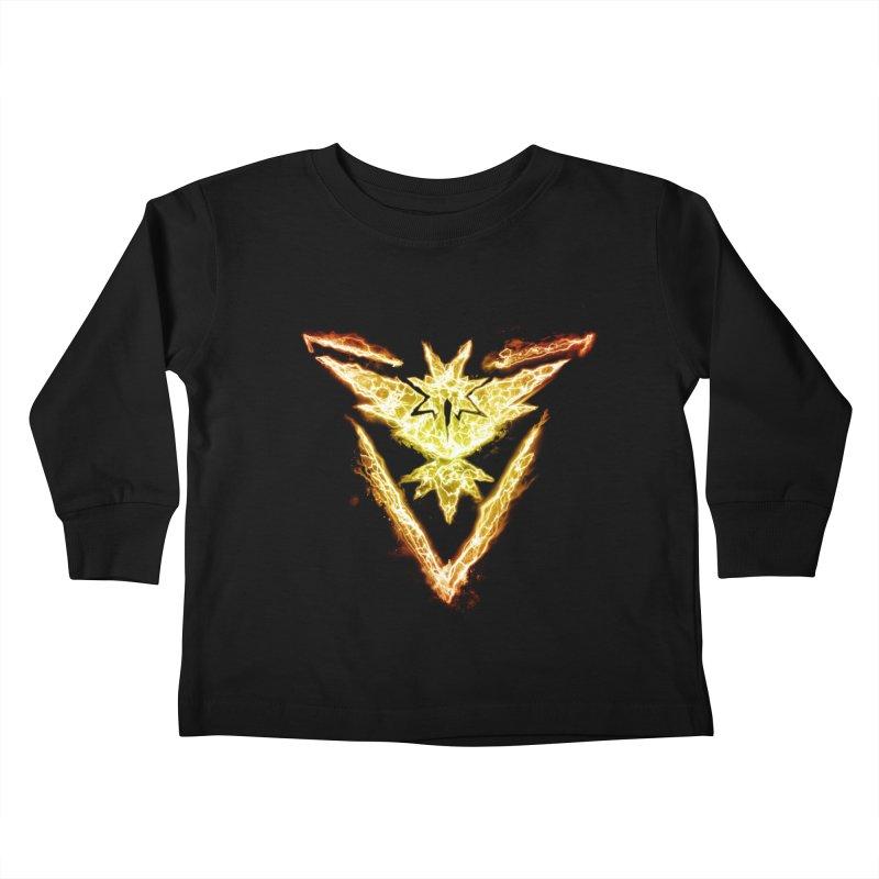 TEAM INSTINCT Kids Toddler Longsleeve T-Shirt by frogafro's Artist Shop