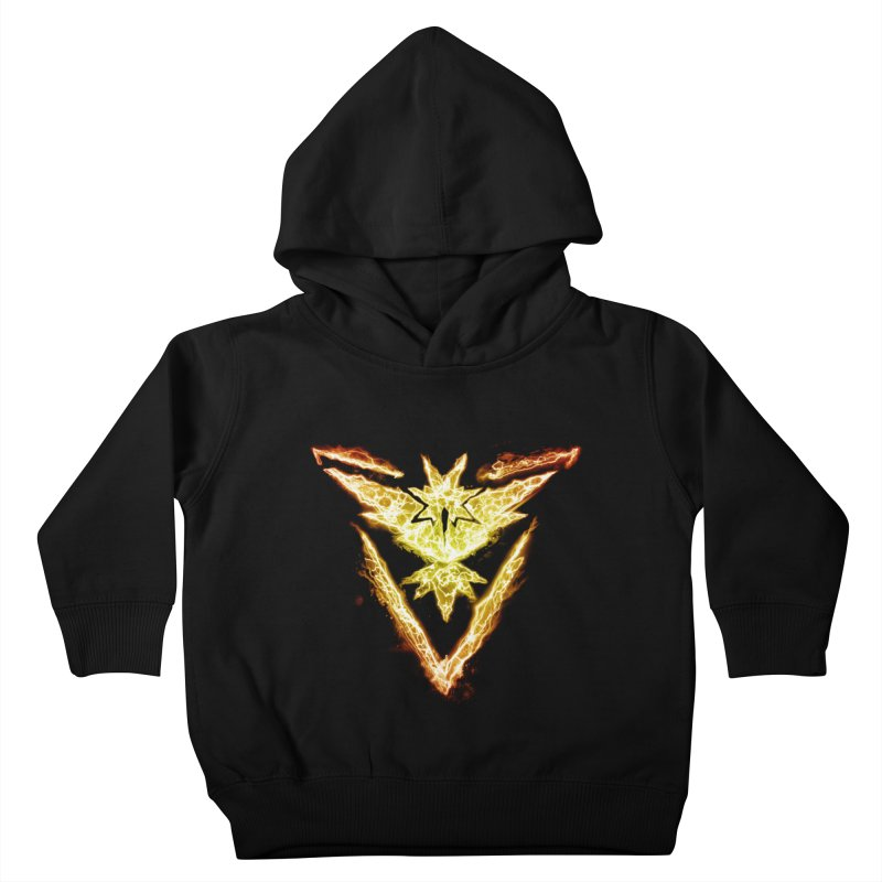 TEAM INSTINCT Kids Toddler Pullover Hoody by frogafro's Artist Shop