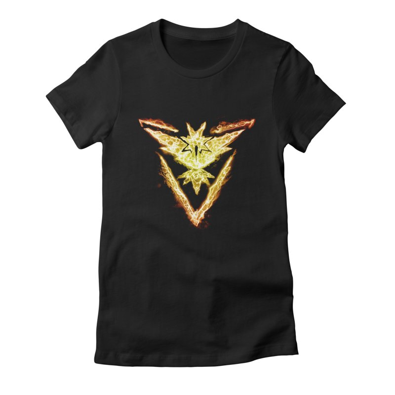 TEAM INSTINCT Women's Fitted T-Shirt by frogafro's Artist Shop