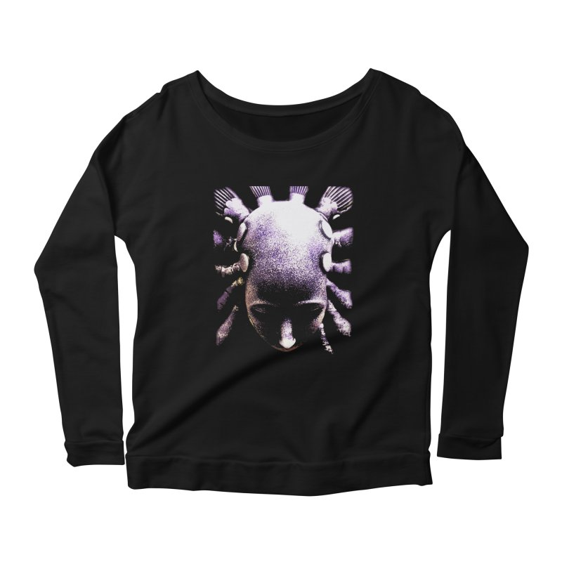 ELSENOVA Women's Scoop Neck Longsleeve T-Shirt by frogafro's Artist Shop