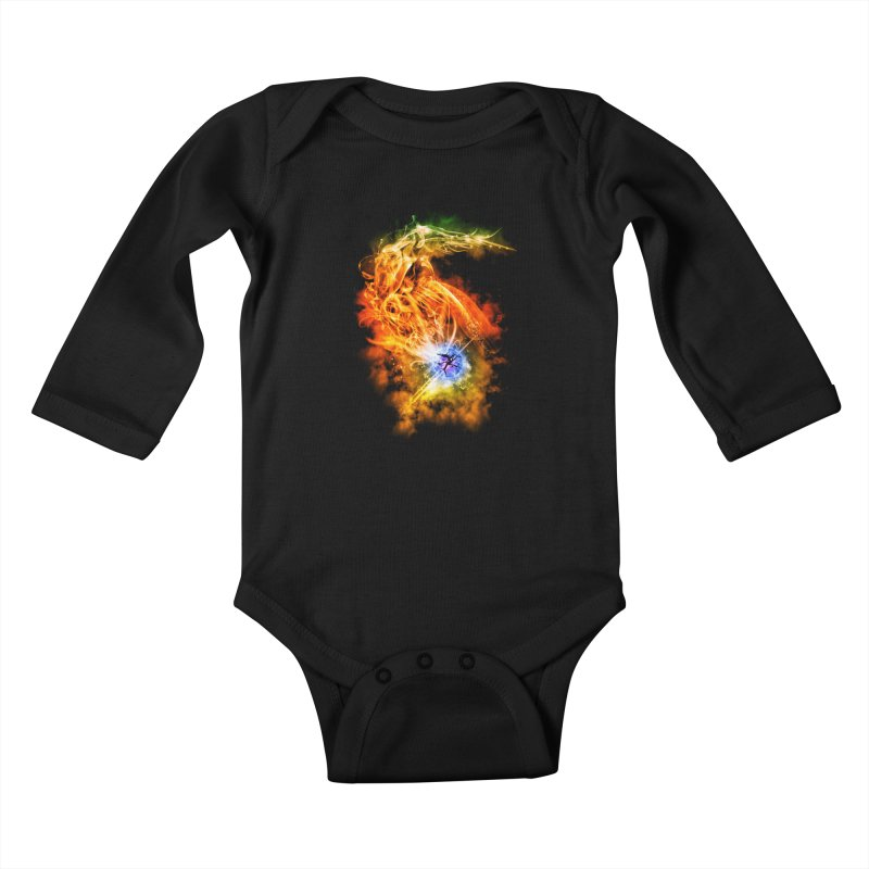 REBIRTH Kids Baby Longsleeve Bodysuit by frogafro's Artist Shop