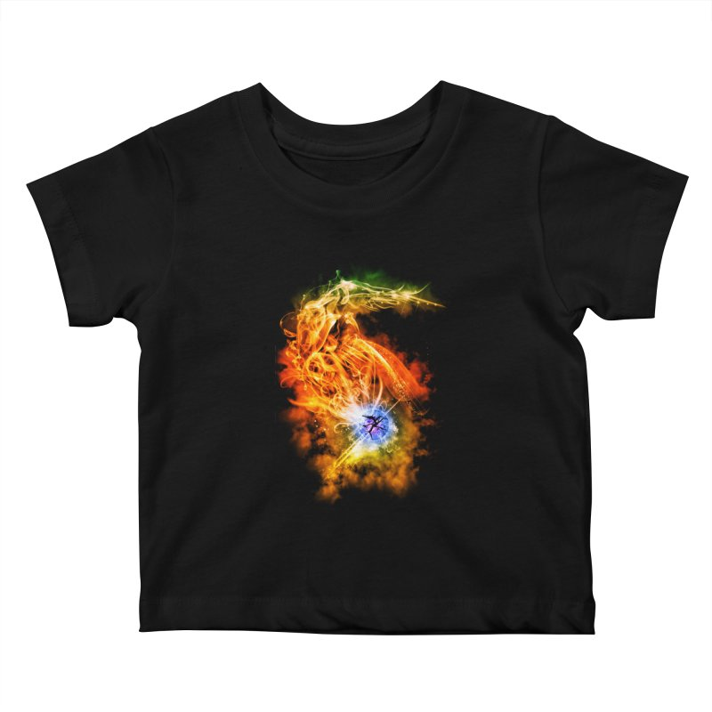 REBIRTH Kids Baby T-Shirt by frogafro's Artist Shop
