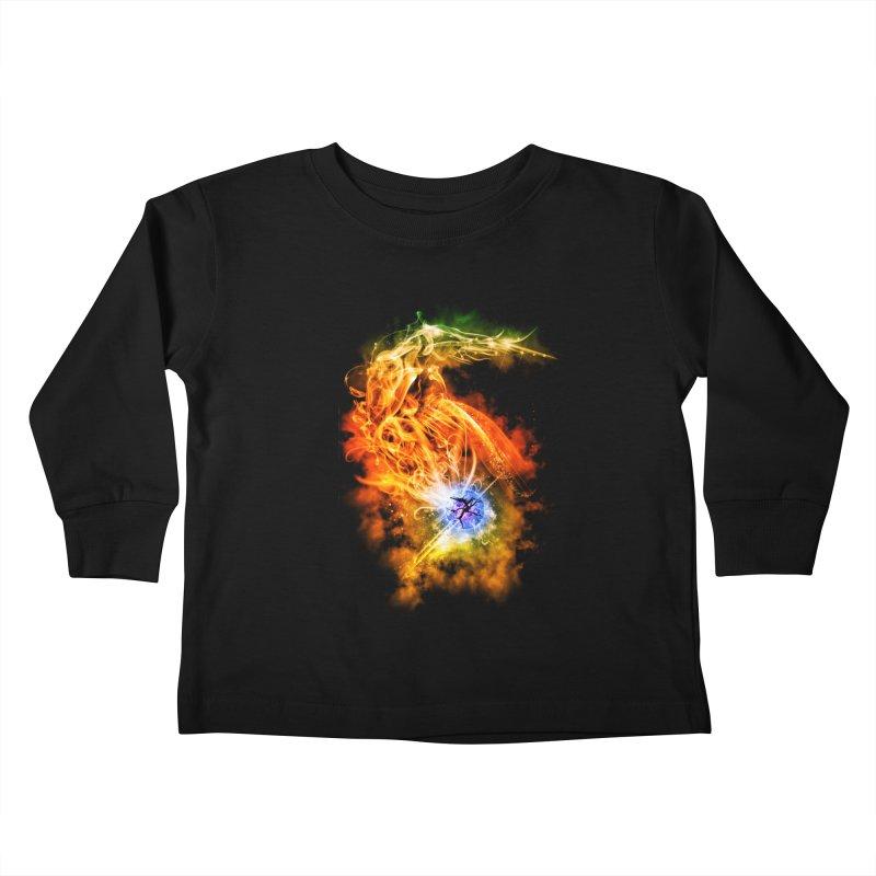 REBIRTH Kids Toddler Longsleeve T-Shirt by frogafro's Artist Shop