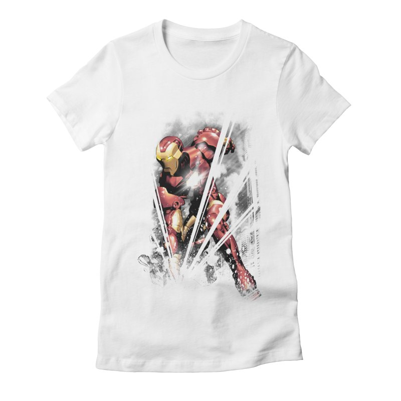 Desperate Times For being Someone Women's Fitted T-Shirt by frogafro's Artist Shop