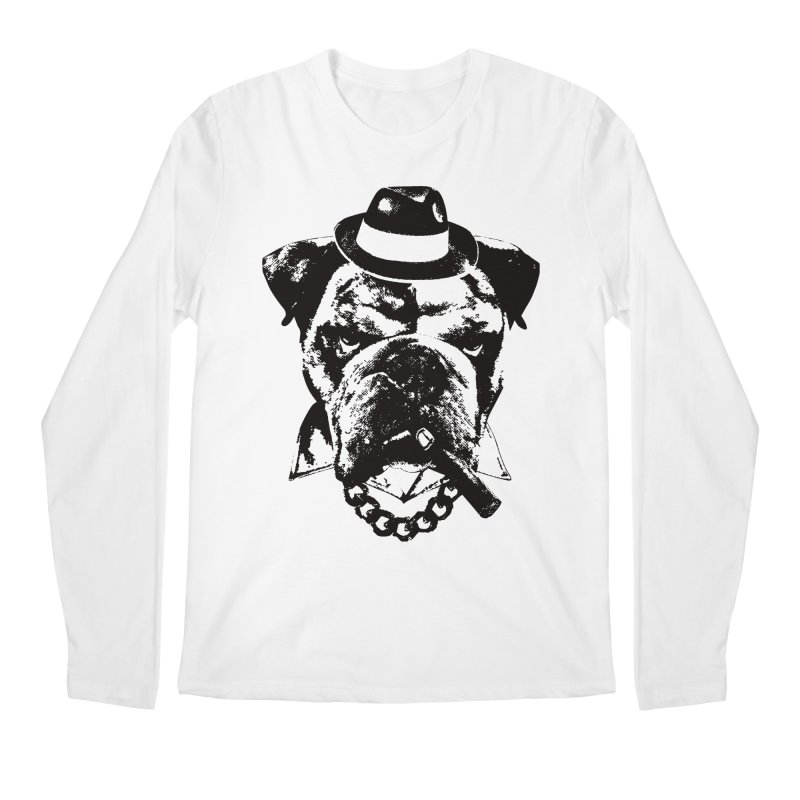 From Frank: Yousa Good Fella Men's Regular Longsleeve T-Shirt by From Frank's Artist Shop