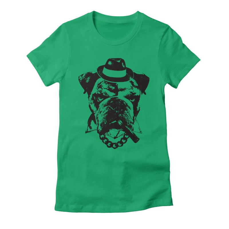 From Frank: Yousa Good Fella Women's Fitted T-Shirt by From Frank's Artist Shop
