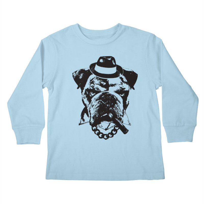 From Frank: Yousa Good Fella Kids Longsleeve T-Shirt by From Frank's Artist Shop