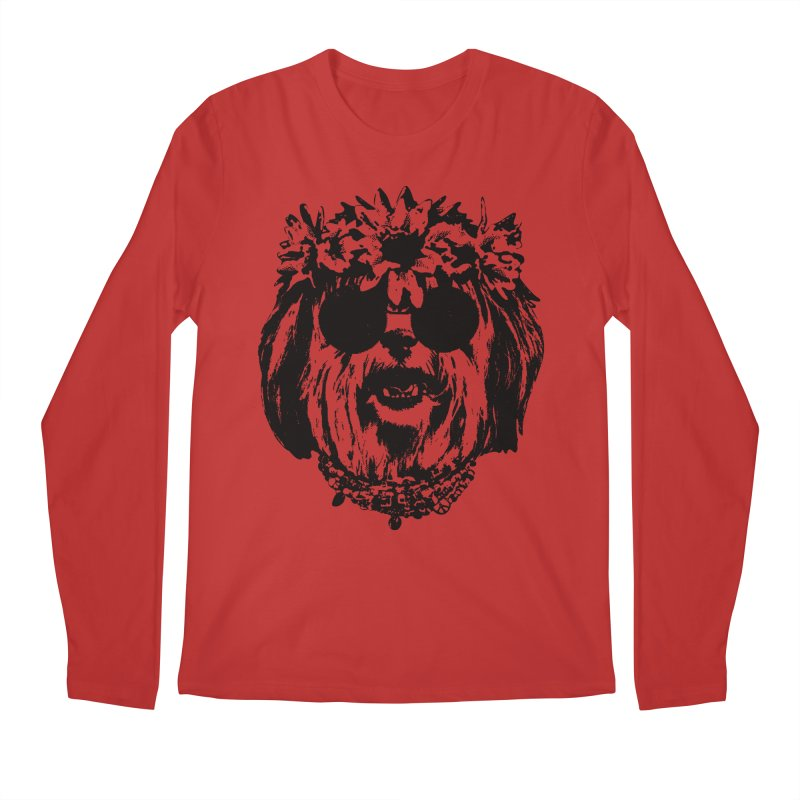 From Frank: Be Groovy or Leave Men's Regular Longsleeve T-Shirt by From Frank's Artist Shop