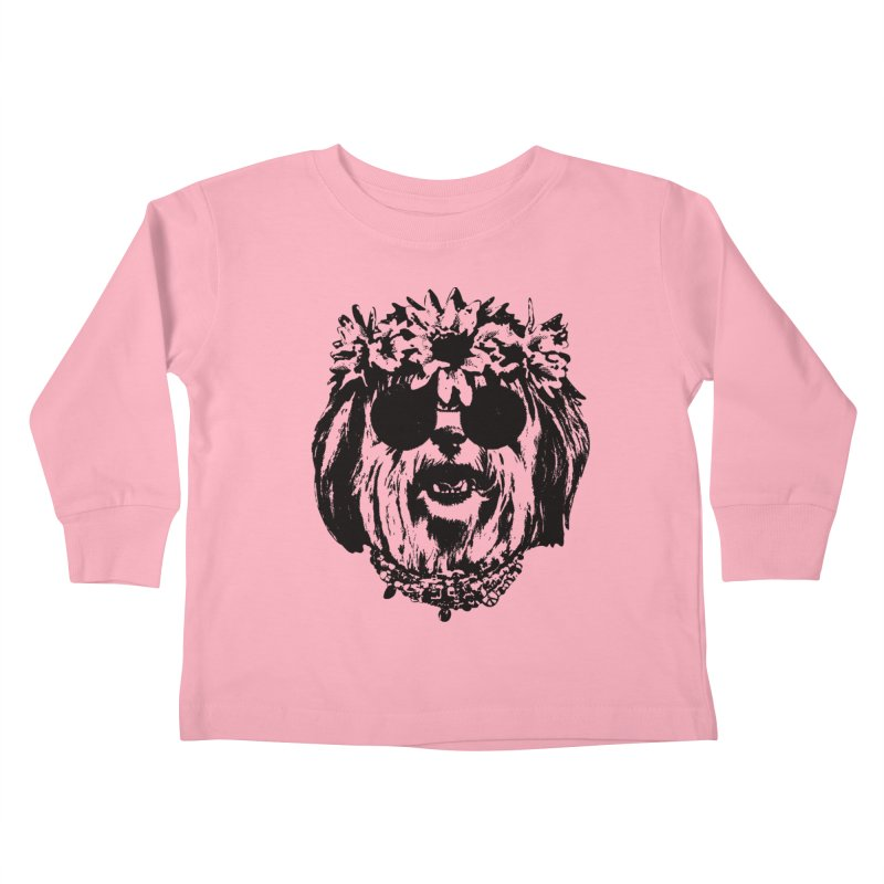 From Frank: Be Groovy or Leave Kids Toddler Longsleeve T-Shirt by From Frank's Artist Shop
