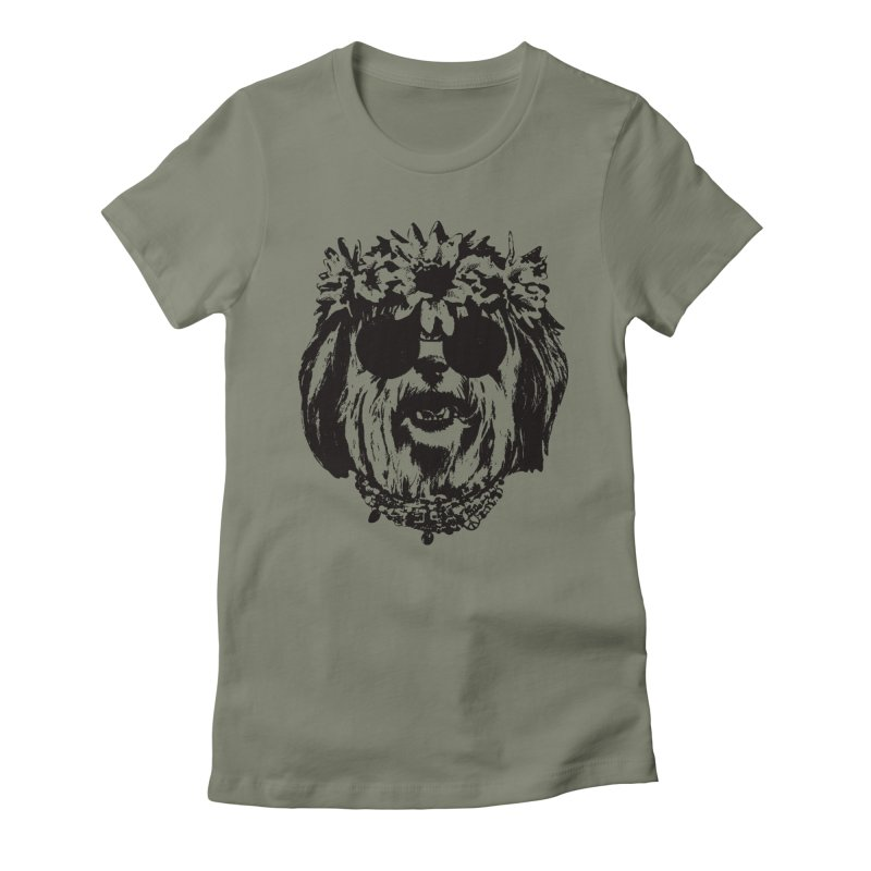 From Frank: Be Groovy or Leave Women's Fitted T-Shirt by From Frank's Artist Shop