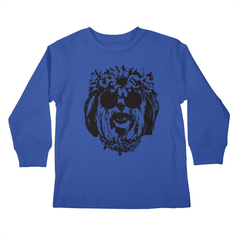From Frank: Be Groovy or Leave Kids Longsleeve T-Shirt by From Frank's Artist Shop