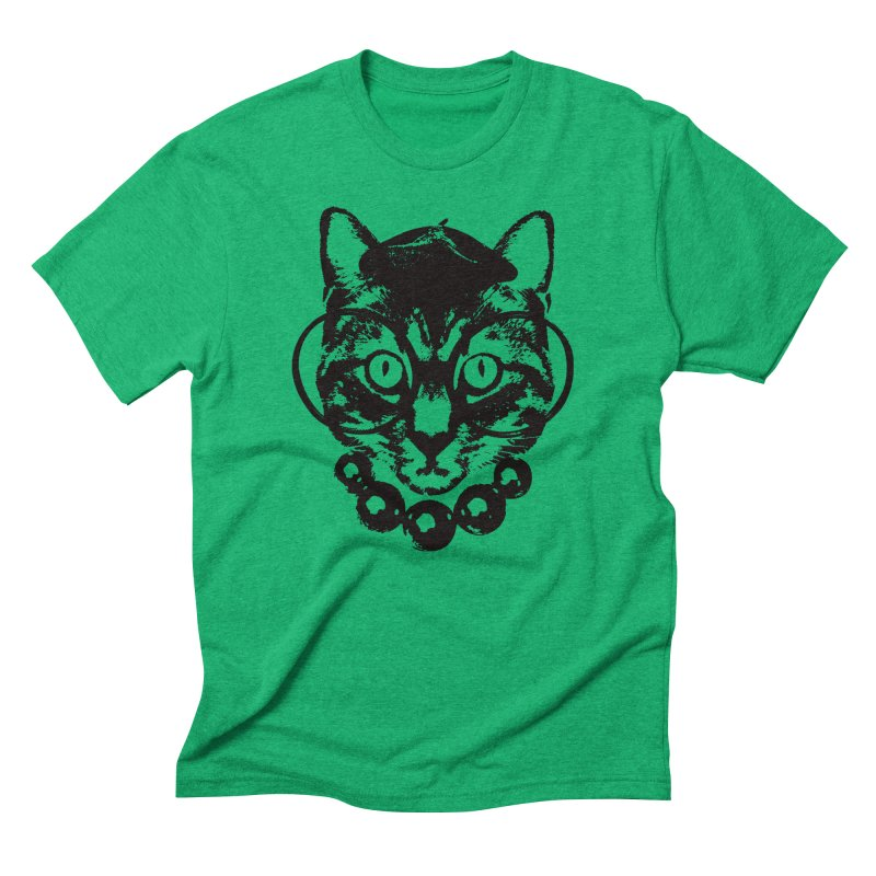 From Frank: Purrrfection, Darling Men's Triblend T-Shirt by From Frank's Artist Shop