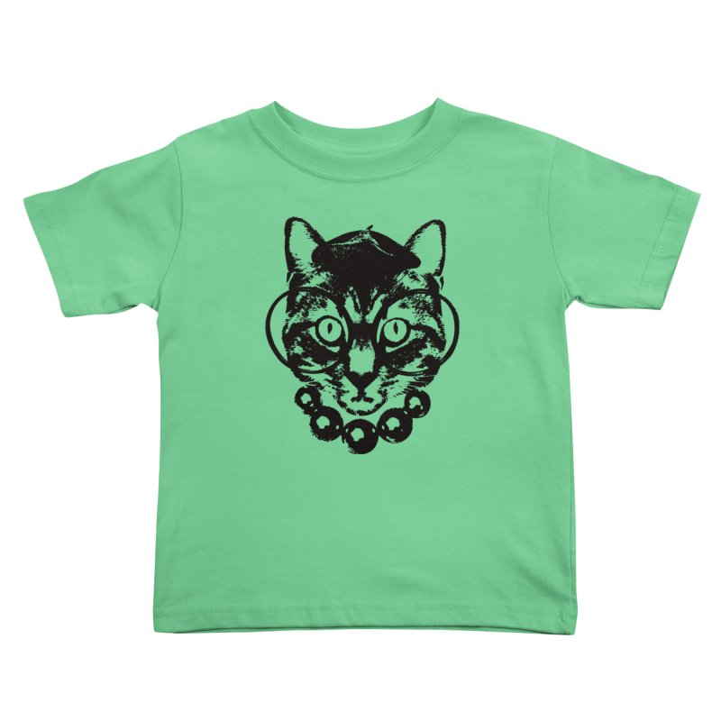 From Frank: Purrrfection, Darling Kids Toddler T-Shirt by From Frank's Artist Shop