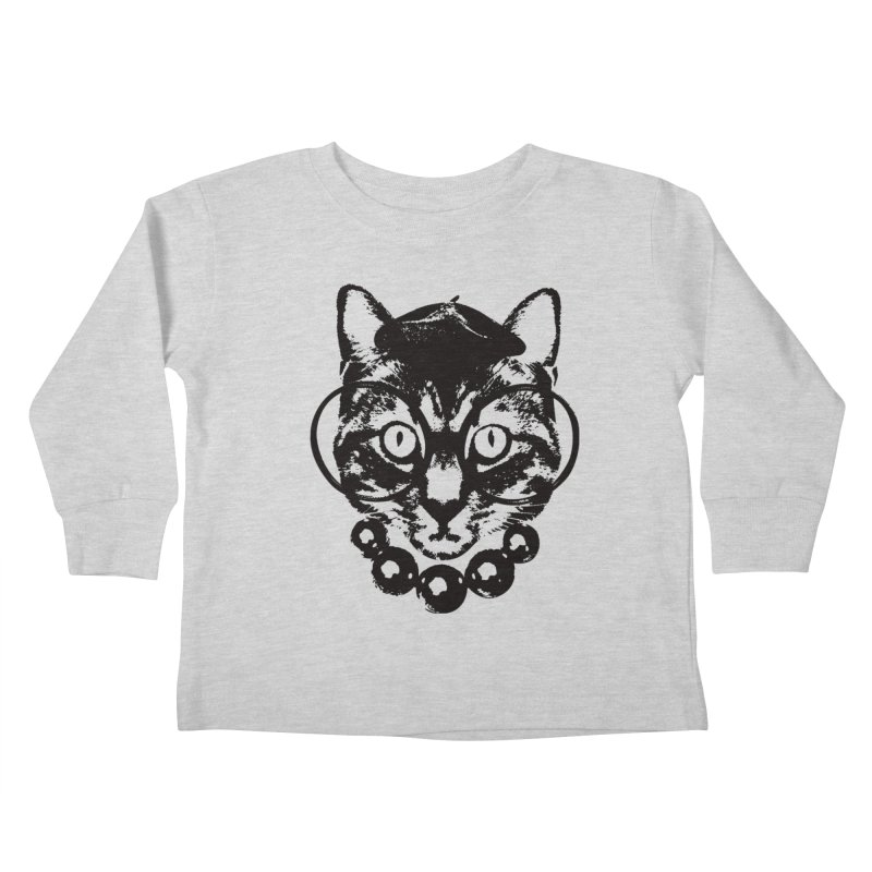 From Frank: Purrrfection, Darling Kids Toddler Longsleeve T-Shirt by From Frank's Artist Shop