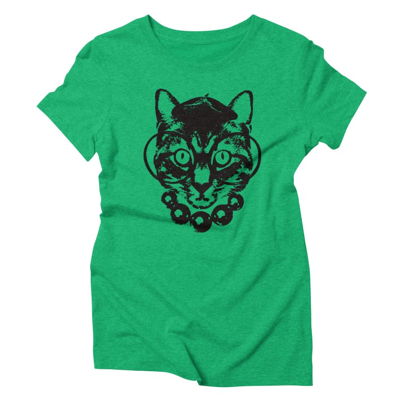 From Frank: Purrrfection, Darling Women's Triblend T-Shirt by From Frank's Artist Shop