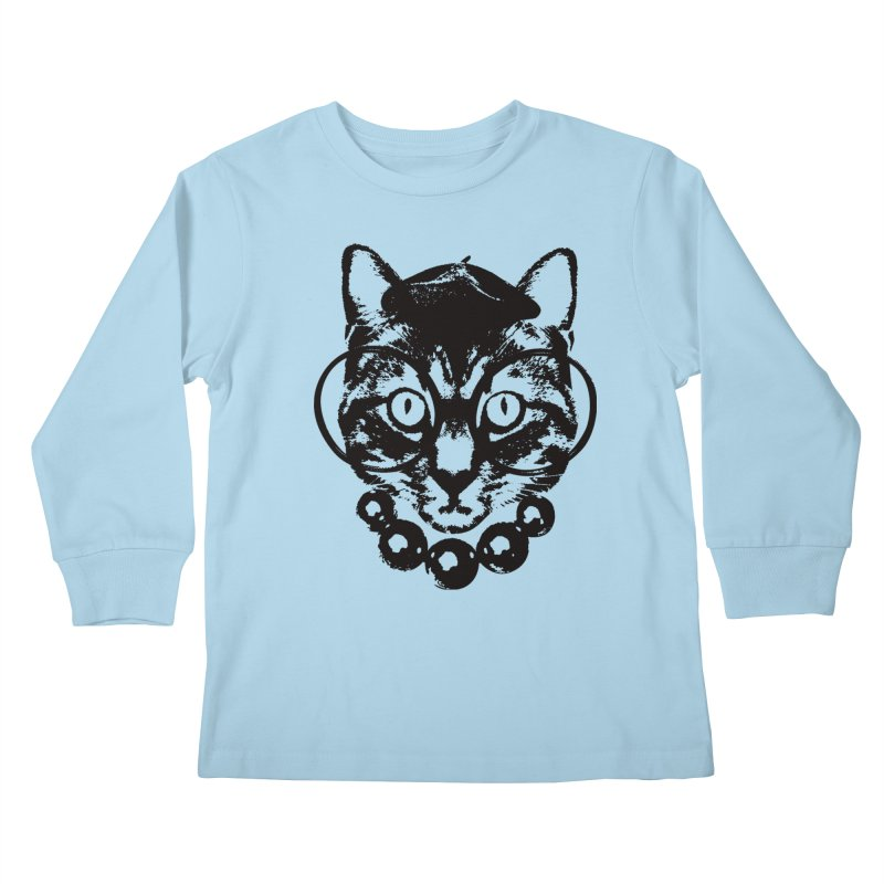 From Frank: Purrrfection, Darling Kids Longsleeve T-Shirt by From Frank's Artist Shop