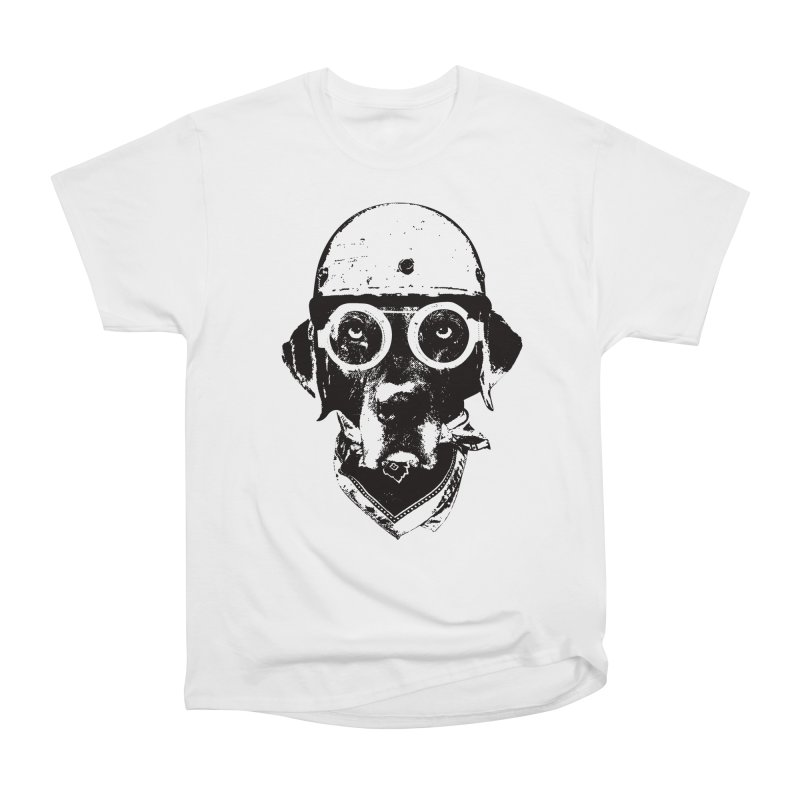 From Frank: Ride On Women's Heavyweight Unisex T-Shirt by From Frank's Artist Shop