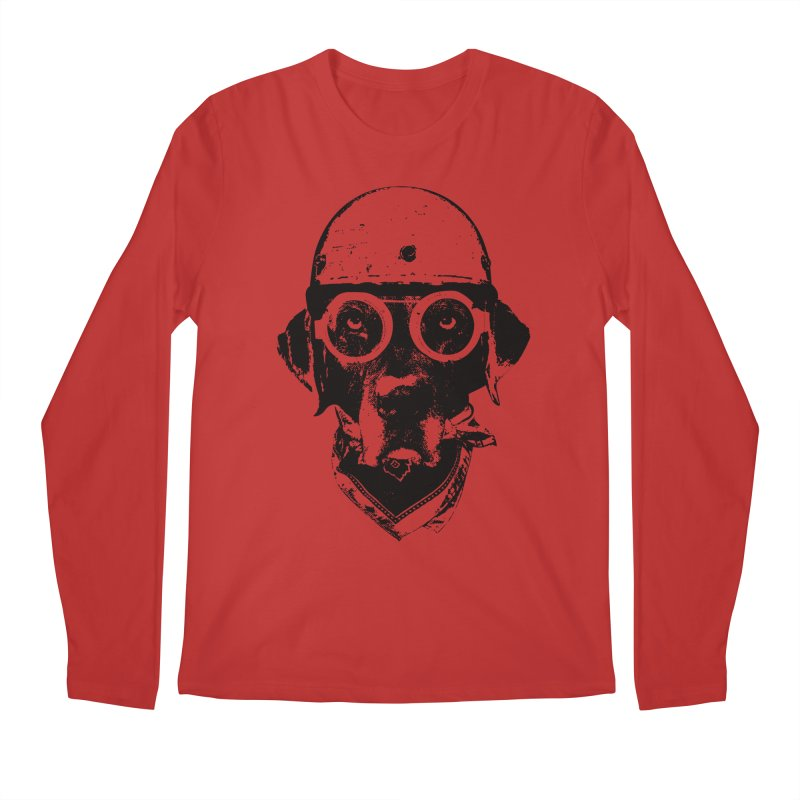 From Frank: Ride On Men's Regular Longsleeve T-Shirt by From Frank's Artist Shop