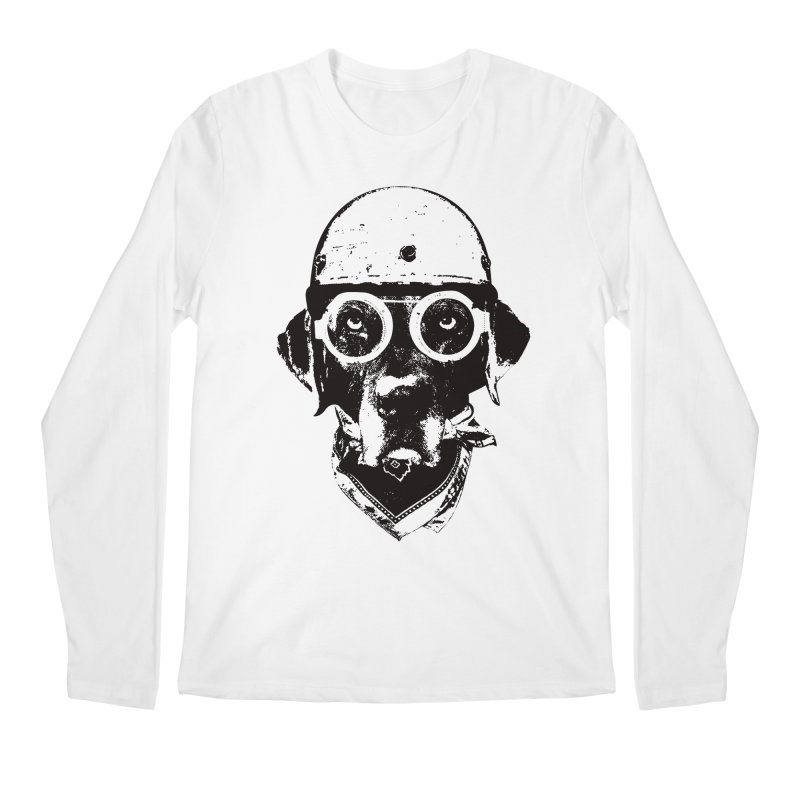From Frank: Ride On Men's Regular Longsleeve T-Shirt by From Frank's Artist Shop