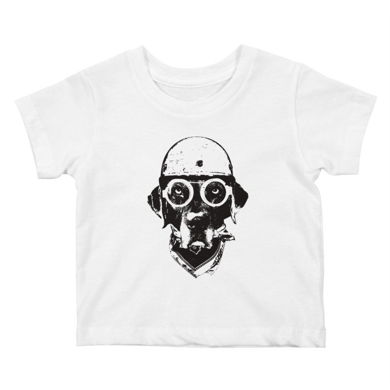 From Frank: Ride On Kids Baby T-Shirt by From Frank's Artist Shop