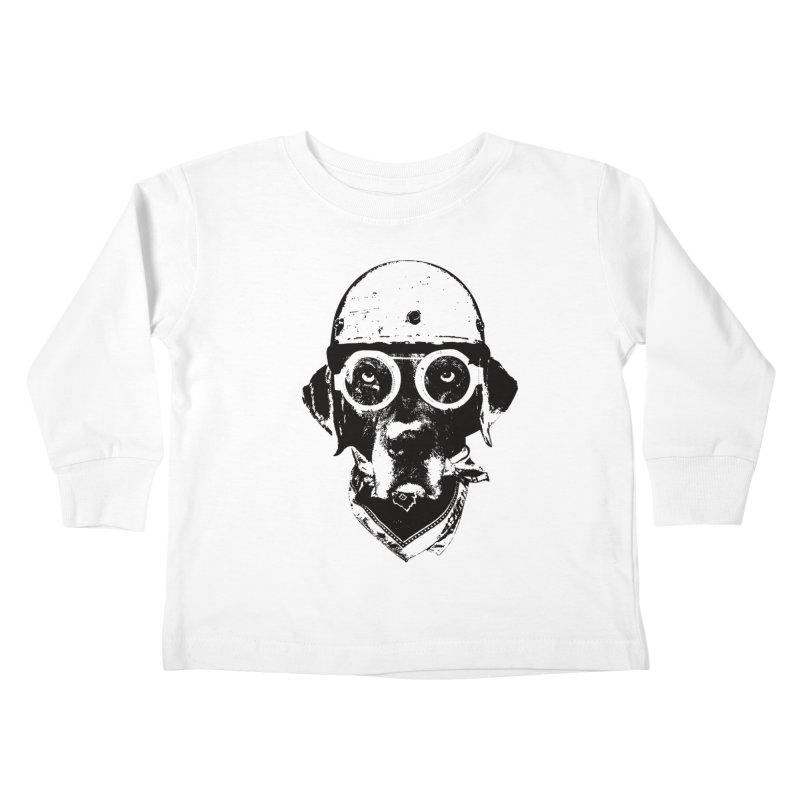 From Frank: Ride On Kids Toddler Longsleeve T-Shirt by From Frank's Artist Shop