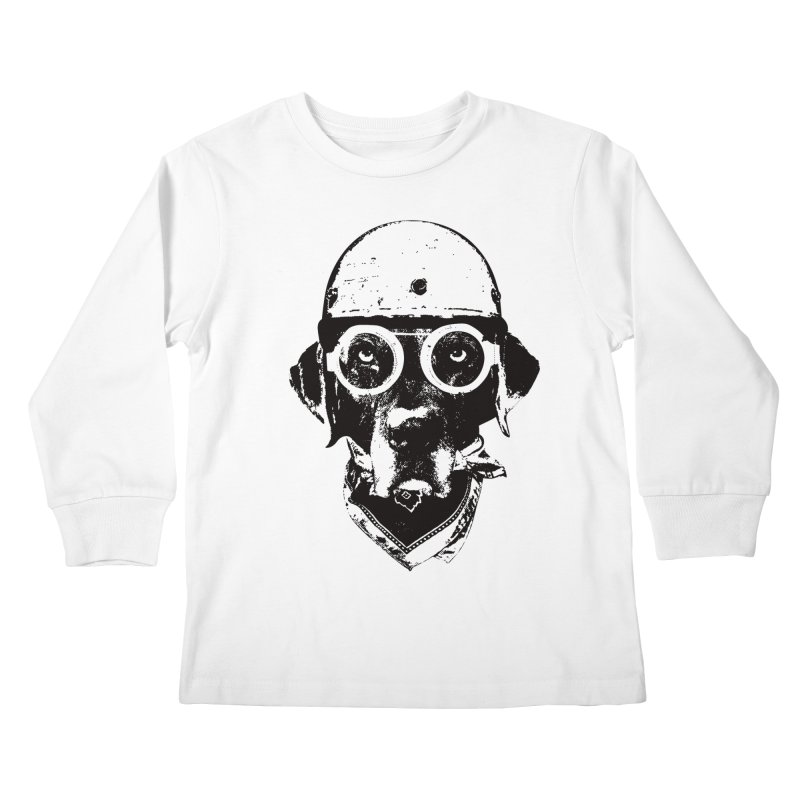From Frank: Ride On Kids Longsleeve T-Shirt by From Frank's Artist Shop