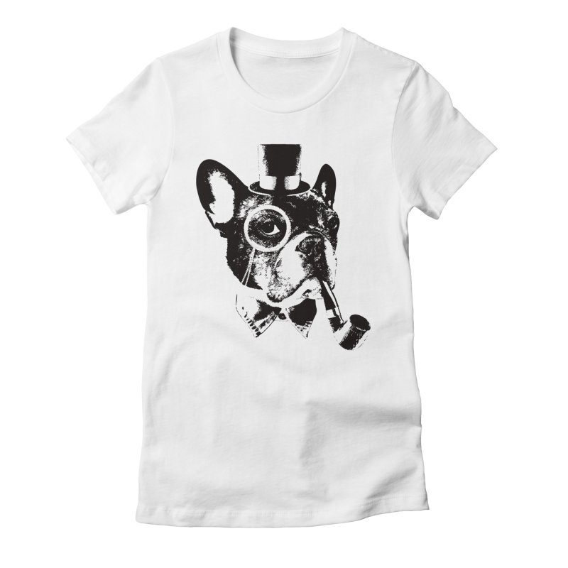 From Frank: Yaaasss, Sir Women's Fitted T-Shirt by From Frank's Artist Shop