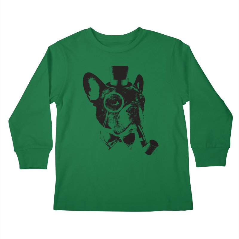 From Frank: Yaaasss, Sir Kids Longsleeve T-Shirt by From Frank's Artist Shop