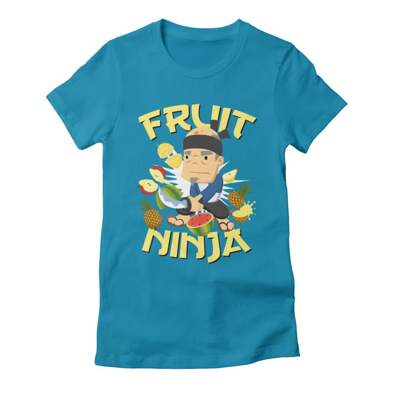 Yes Sensei! Women's Fitted T-Shirt by Fruit Ninja Store