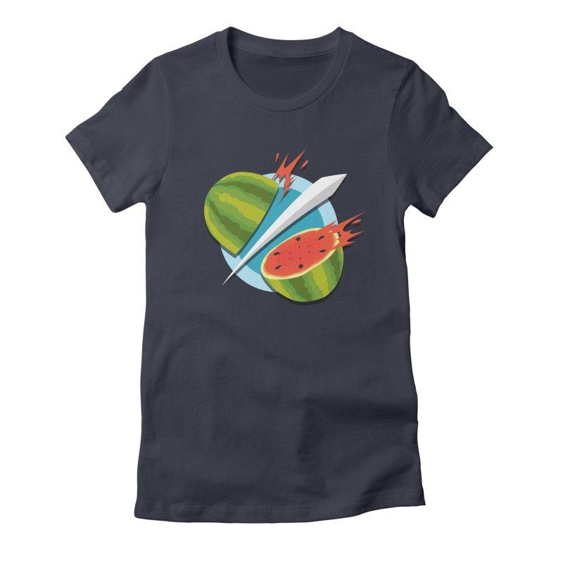 Fruit Ninja Classic Women's Fitted T-Shirt by Fruit Ninja Store