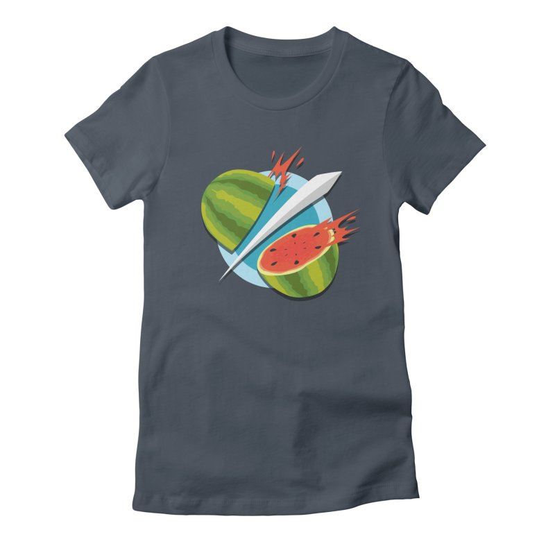 Fruit Ninja Classic Women's Fitted T-Shirt by Fruit Ninja Store