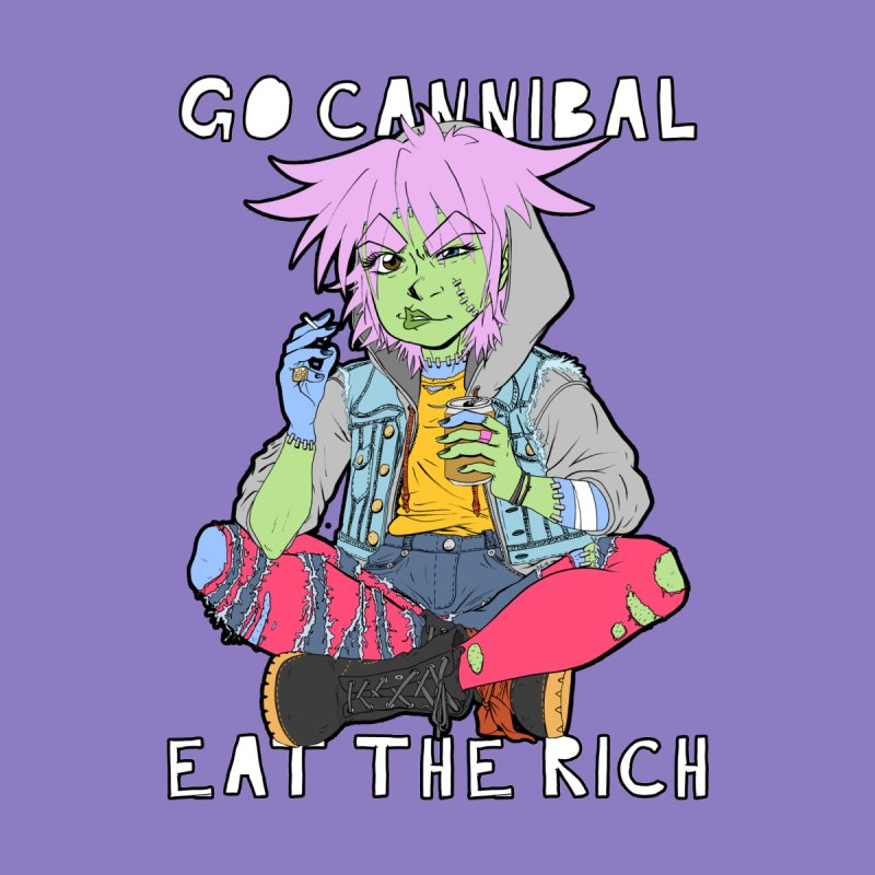 ZUSHIE: Go Cannibal by Fruity Black
